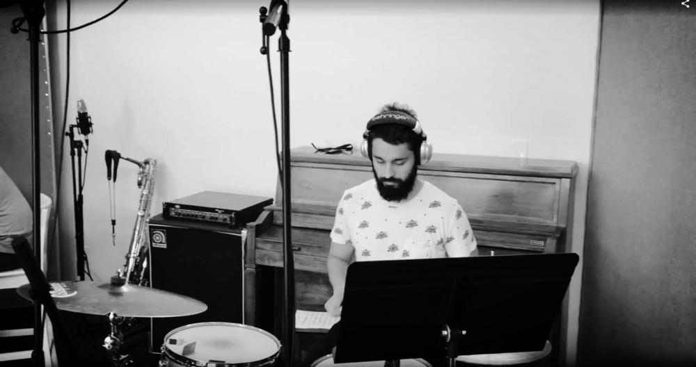 Ehssan Karimi, drums