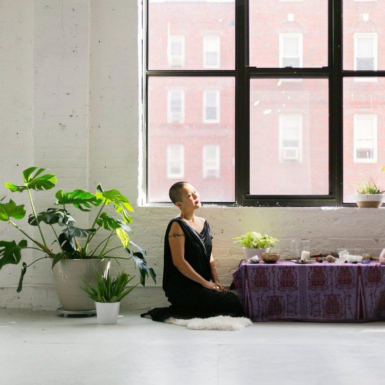 Rose Healing Ritual, Mother's Blessing Ritual, Rite of Passage, Cosmic Moon Magic - Aki Hirata Baker