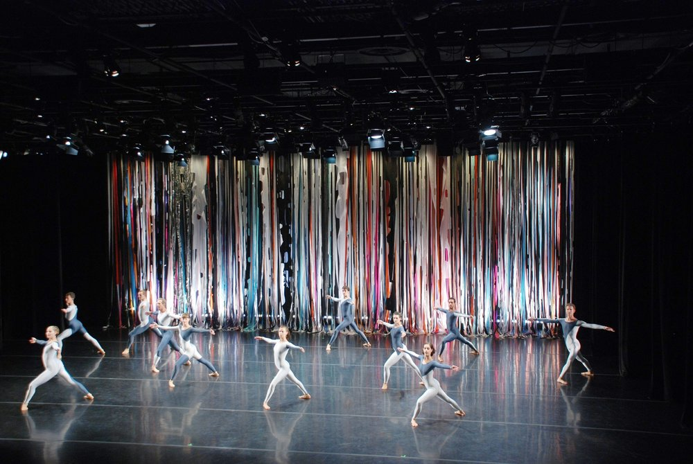 Merce Cunningham Company Performance, Decor for Merce Cunningham Dance Company at the Dance Center of Columbia College Chicago