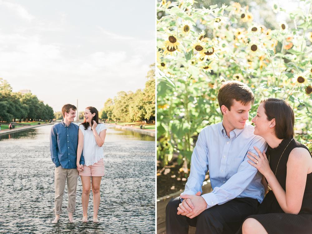 texas houston engagement proposal couple wedding hermann park portrait adventure photographer photography the woodlands