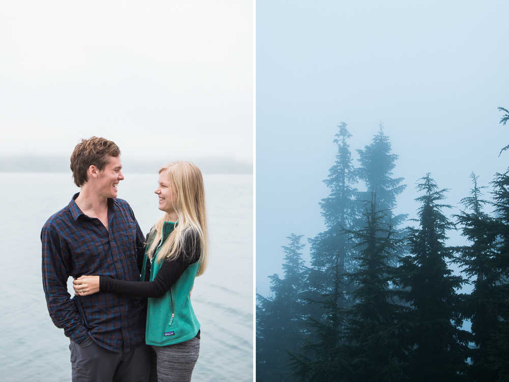 seattle washington rainier national park olympic ruby beach vancouver british columbia canada pacific north west engagement proposal couple wedding portrait adventure photographer photography