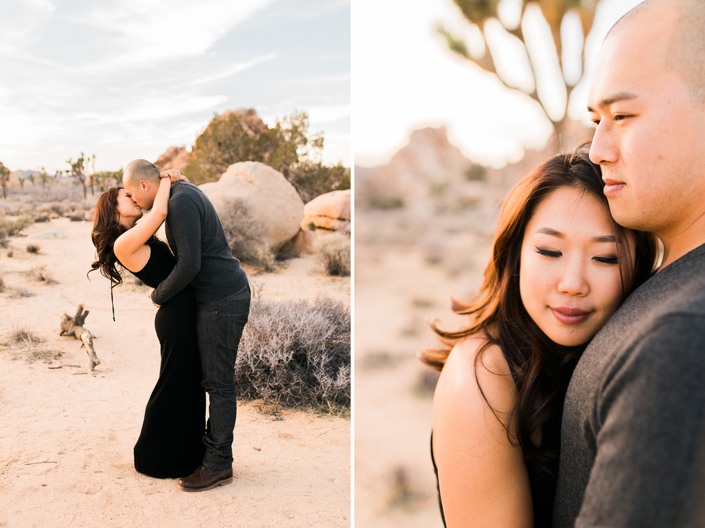 joshua tree national park engagement photography | www.abbihearne.com