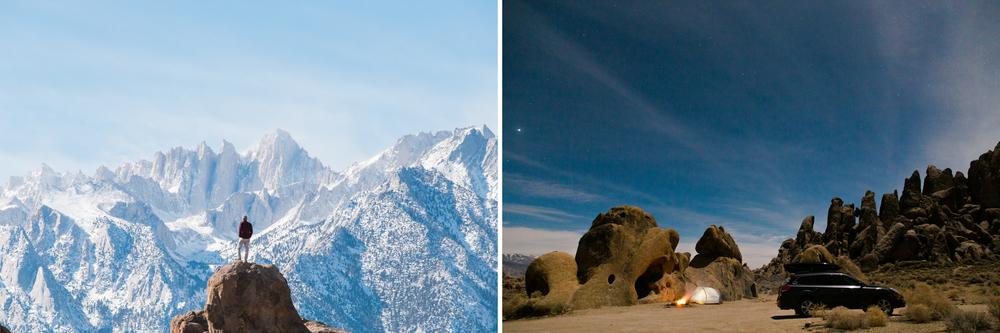 alabama hills rec area in lone pine, california | www.abbihearne.com