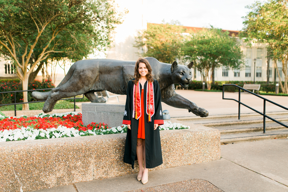 houston, texas senior graduation portraits | www.abbihearne.com