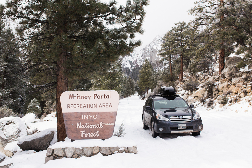 whitney portal rec area in lone pine, california | www.abbihearne.com