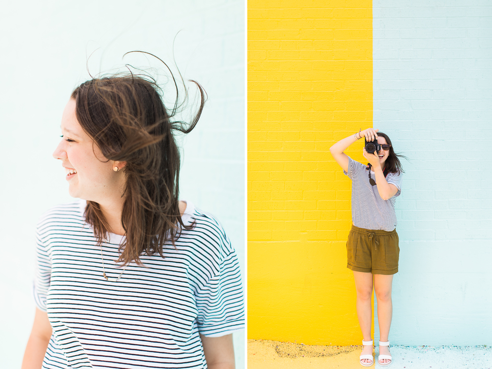 houston, texas photography | sugar and cloth color wall | www.abbihearne.com
