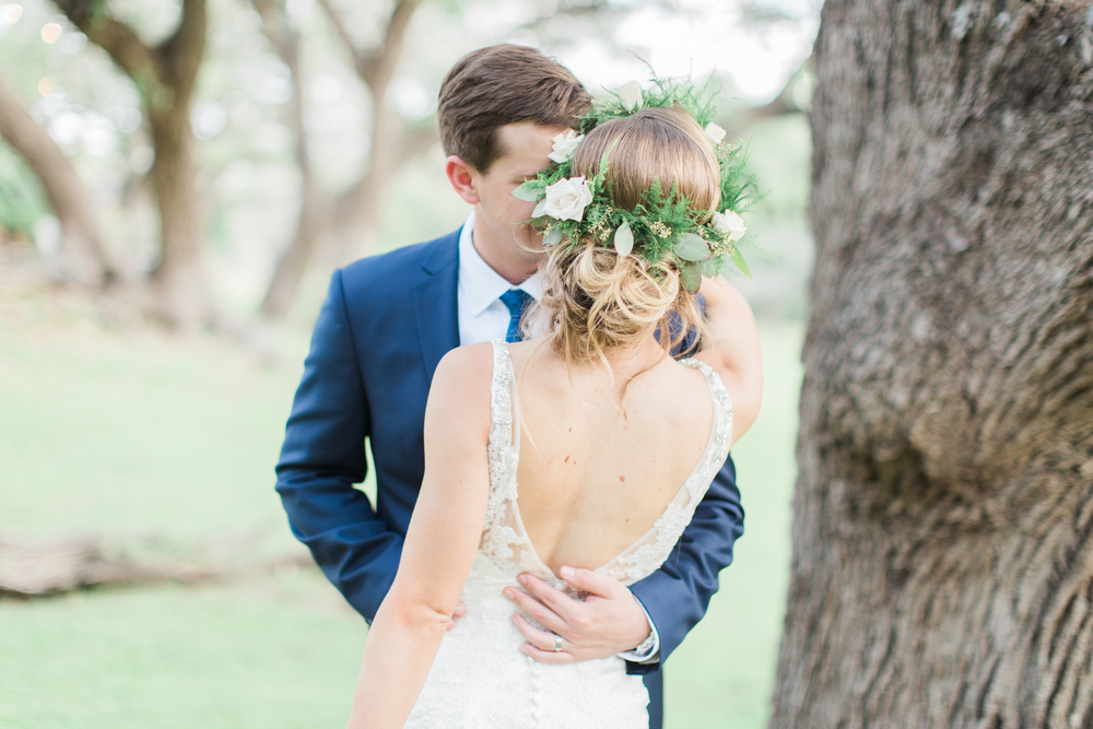 flower crown // garden party wedding // sisterdale dancehall // outdoor wedding photographer // www.abbihearne.com