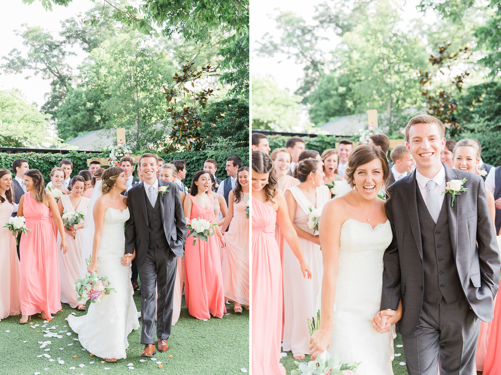austin, texas garden party wedding // the union on eighth // outdoor wedding photography // www.abbihearne.com