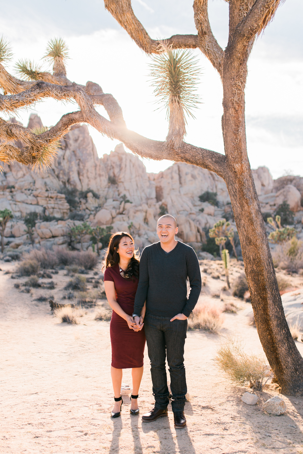 Sigma ART 35mm f1.4 // joshua tree national park engagement photography // www.abbihearne.com