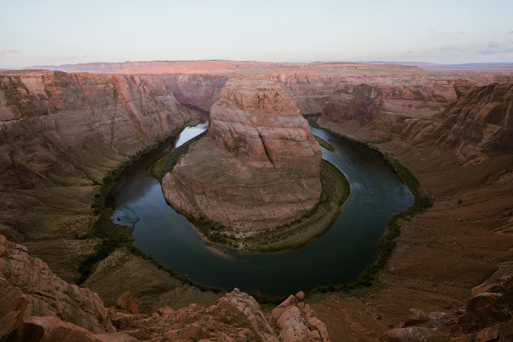 exploring horseshoe bend in page, arizona // adventure photographer // www.abbihearne.com