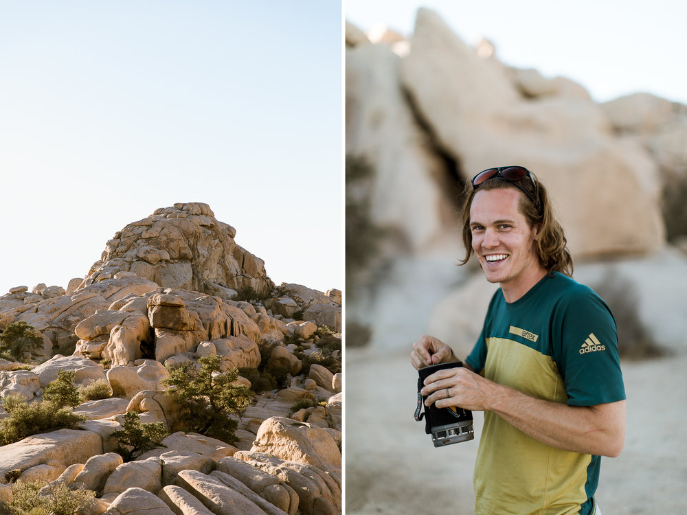 camping in joshua tree national park // www.abbihearne.com