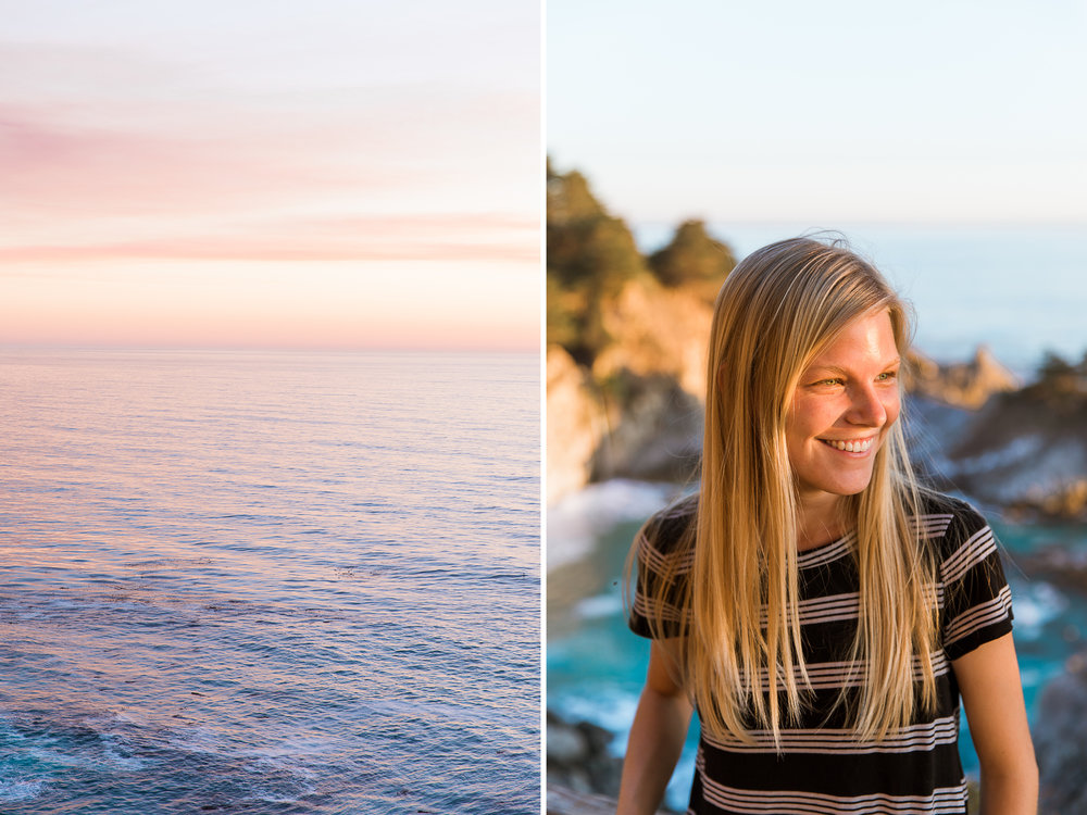 Sunset at Big Sur // California Adventure Photographer // www.abbihearne.com