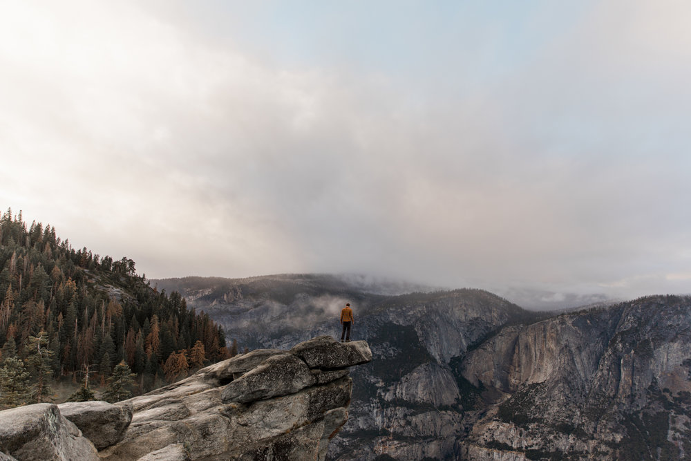 Half Dome in Yosemite National Park // California Adventure Photographer // www.abbihearne.com