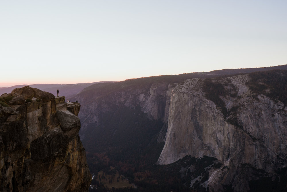 Taft Point in Yosemite National Park // California Adventure Photographer // www.abbihearne.com