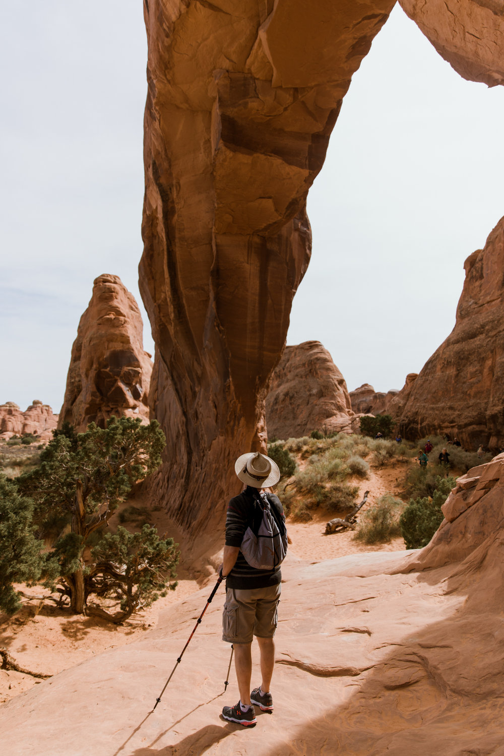Exploring Arches National Park // Moab Utah Family Photographer // www.abbihearne.com