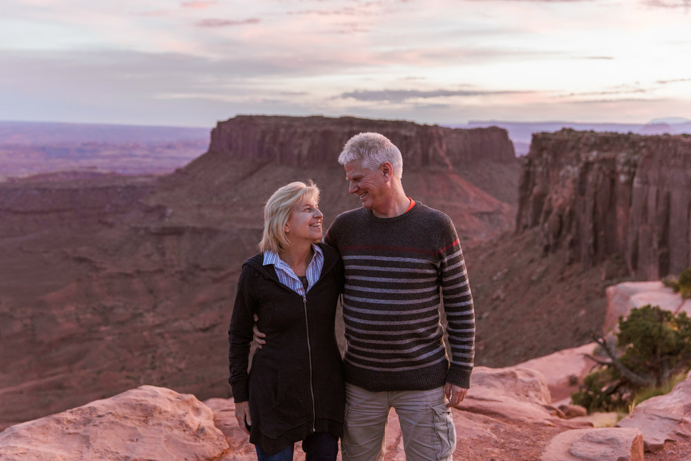 Exploring Canyonlands National Park // Moab Utah Family Photographer // www.abbihearne.com