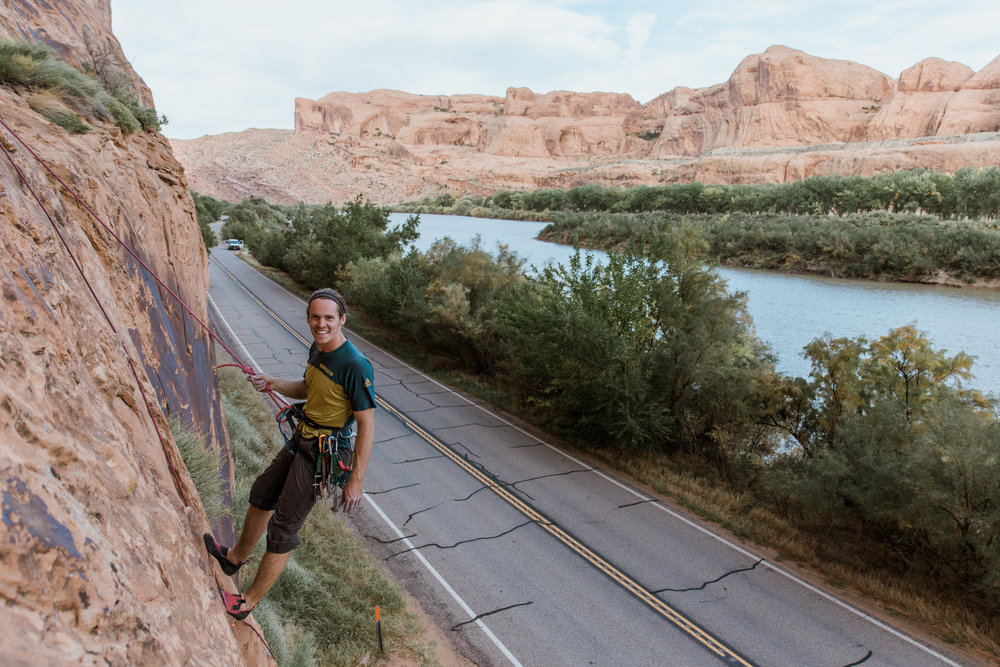 rock climbing in moab, utah // adventure lifestyle photographer // www.abbihearne.com