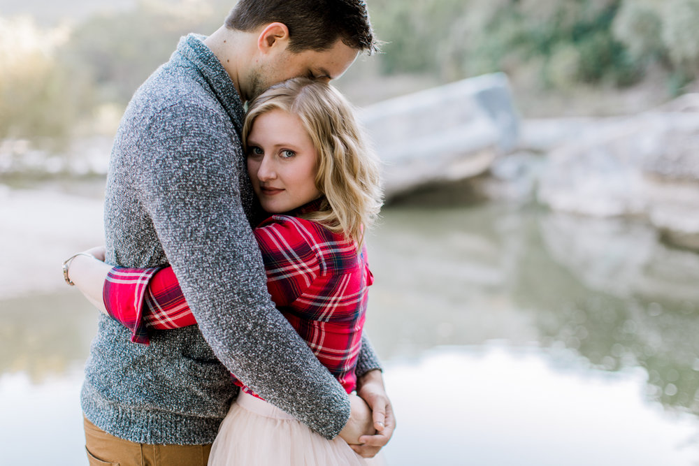anniversary portrait session in bull creek park // austin, texas adventure photographer // www.abbihearne.com