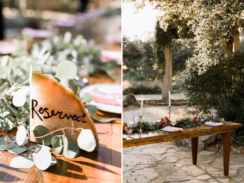 Fall Garden party wedding at Lady Bird Johnson Wildflower Center // austin, texas wedding photographer // www.abbihearne.com