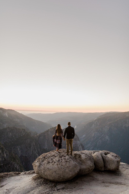 Yosemite National Park anniversary photo session // california adventure wedding photographer // www.abbihearne.com