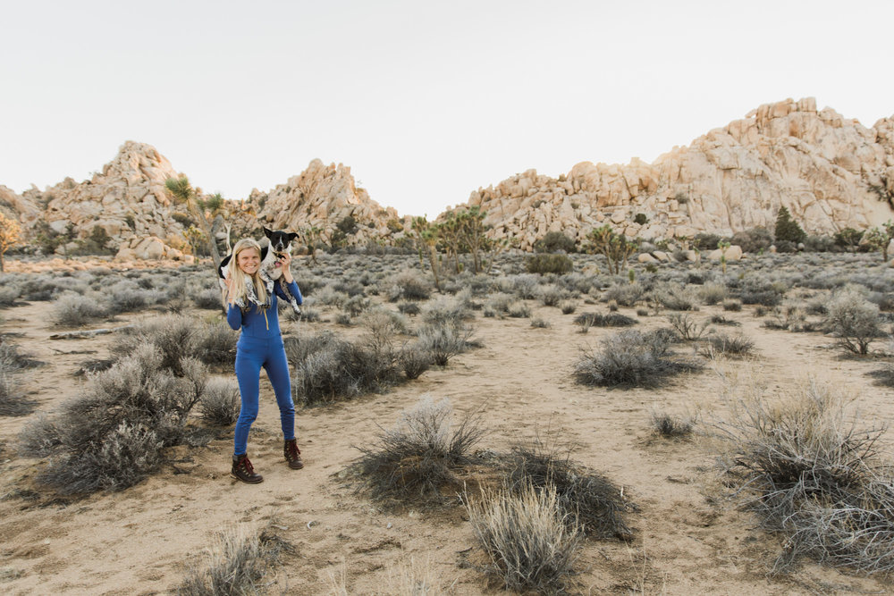 patagonia women's one piece base layer // exploring joshua tree national park // www.abbihearne.com