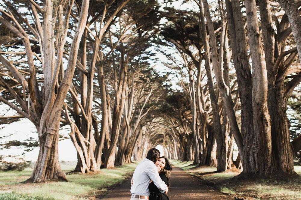 point reyes national seashore engagement photos // california wedding photographer // www.abbihearne.com
