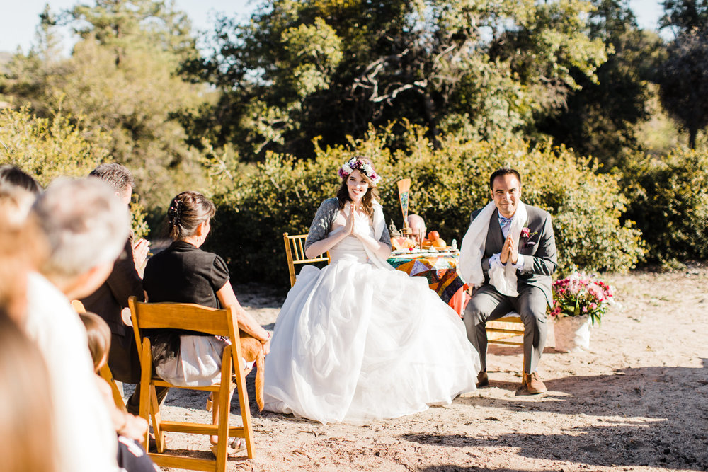 ANGELES NATIONAL FOREST CAMPGROUND WEDDING IN THE MOUNTAINS | CALIFORNIA ADVENTURE PHOTOGRAPHER | WWW.THEHEARNES.COM