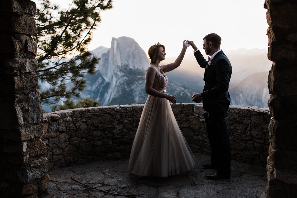 yosemite national park elopement inspiration | california adventure wedding photographer | thehearnes.com