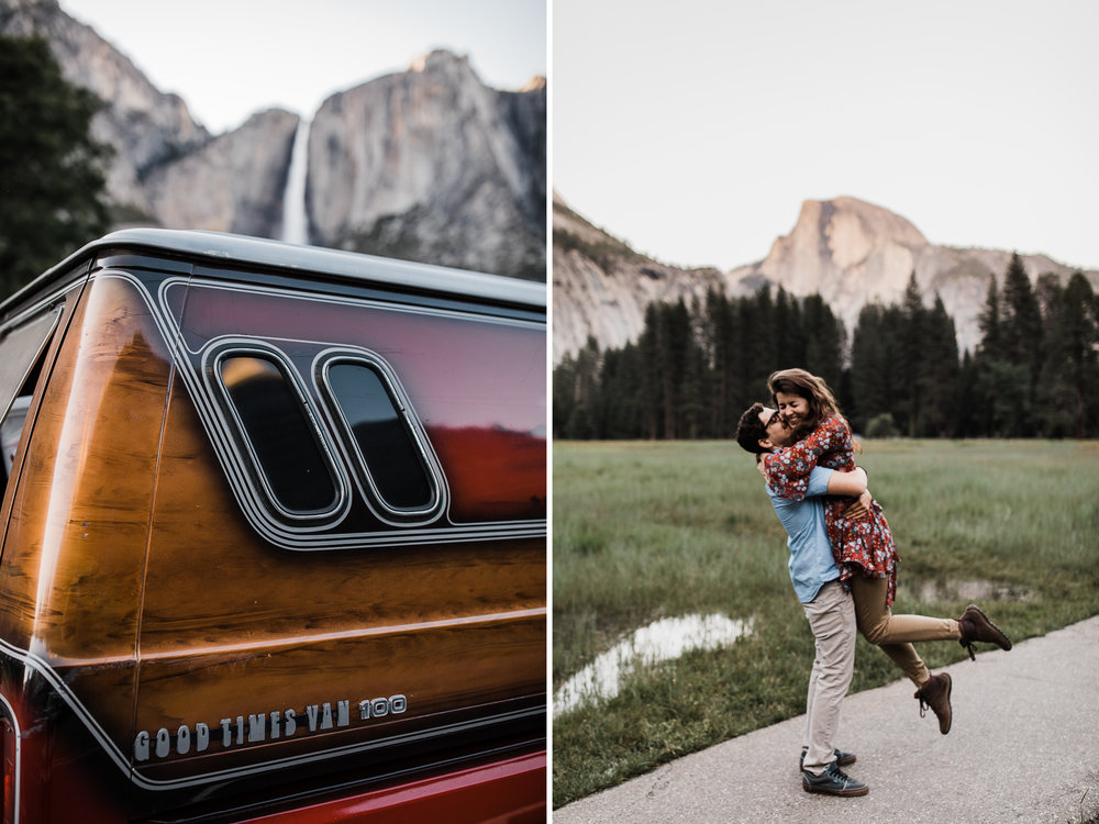 Yosemite National Park van life portrait session | california adventure photographer