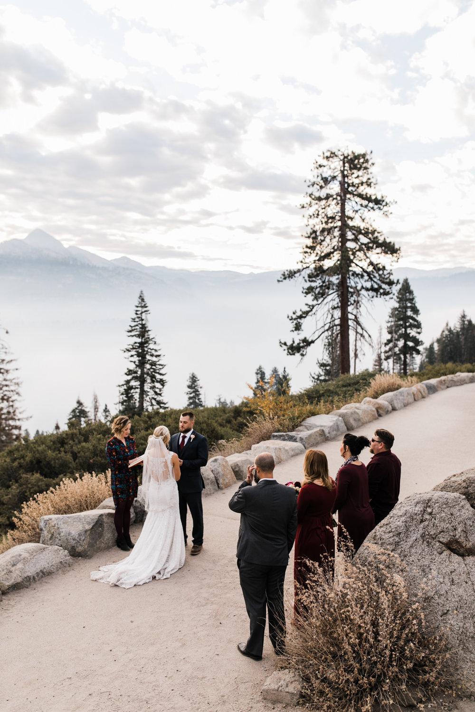 yosemite national park sunrise elopement | destination adventure wedding photographers | the hearnes adventure photography | www.thehearnes.com
