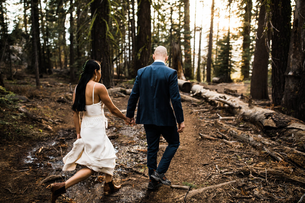adventure elopement in yosemite national park | destination adventure wedding photographers | the hearnes adventure photography | www.thehearnes.com