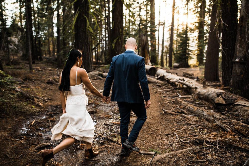 adventure elopement in yosemite national park | destination adventure wedding photographers | the hearnes adventure photography | www.thehearnes.com