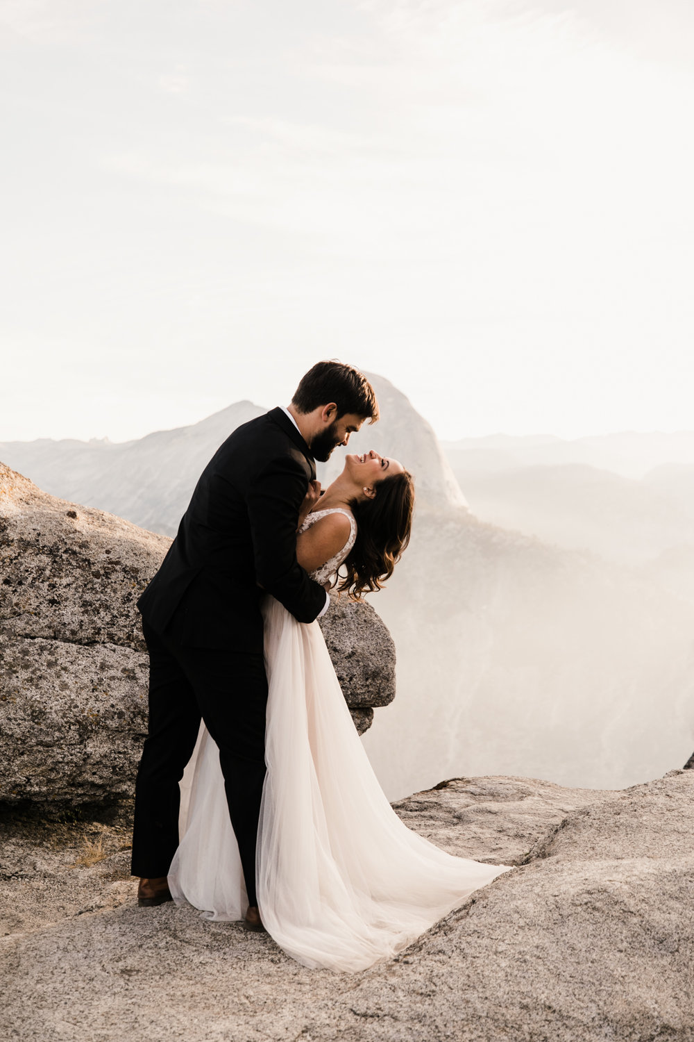 intimate yosemite elopement | destination adventure wedding photographers | the hearnes adventure photography | www.thehearnes.com