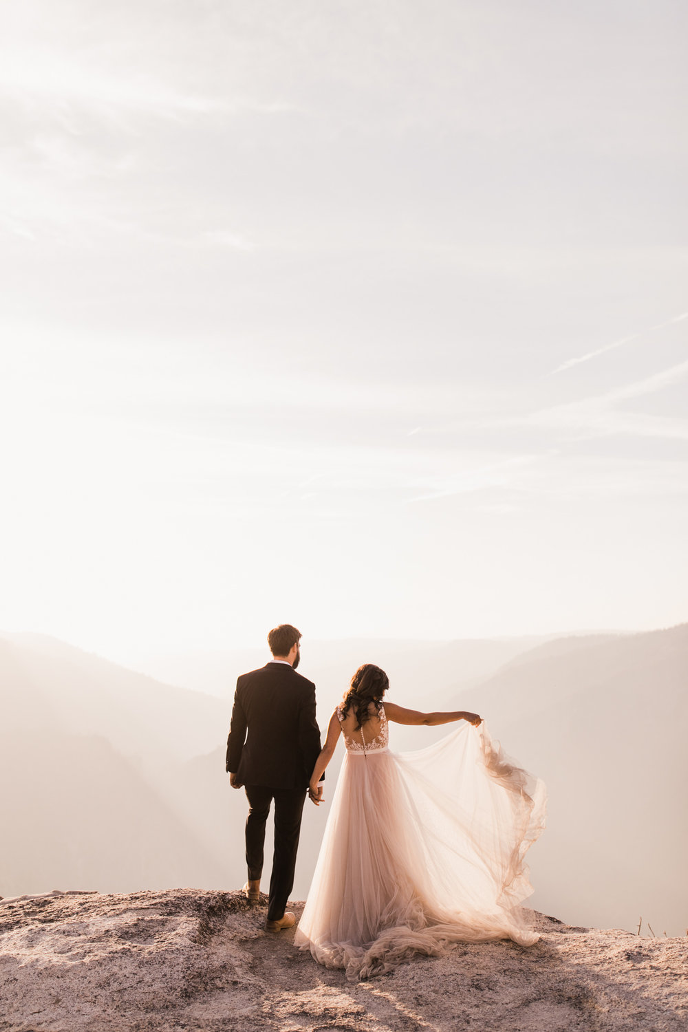 intimate yosemite national park elopement | destination adventure wedding photographers | the hearnes adventure photography | www.thehearnes.com