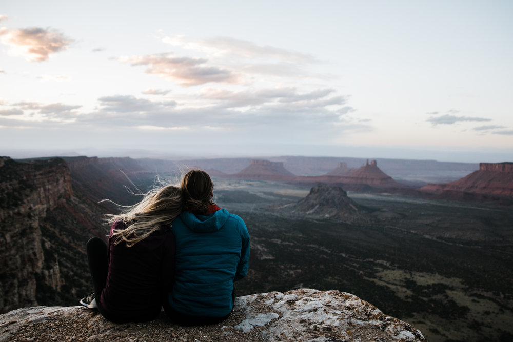 vanlife in moab utah | utah and california adventure elopement photographers | the hearnes adventure photography | www.thehearnes.com