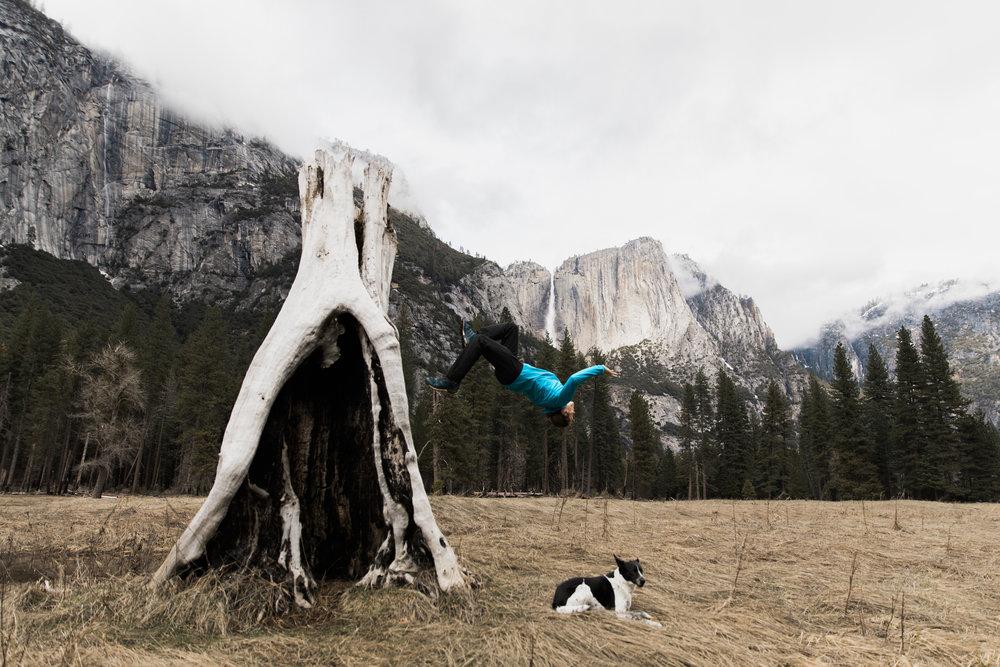 exploring yosemite national park | utah and california adventure elopement photographers | the hearnes adventure photography | www.thehearnes.com