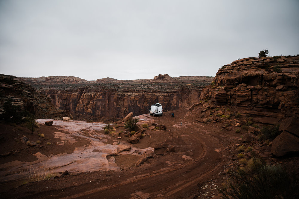 van life exploring moab utah | utah and california adventure elopement photographers | the hearnes adventure photography | www.thehearnes.com