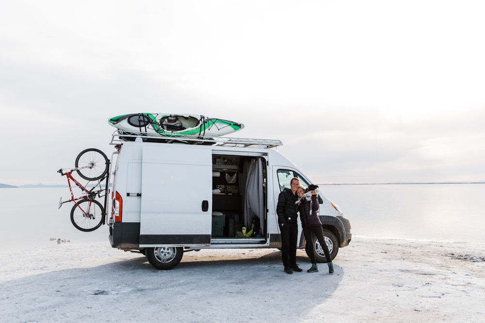 vanlife in utah | utah and california adventure elopement photographers | the hearnes adventure photography | www.thehearnes.com