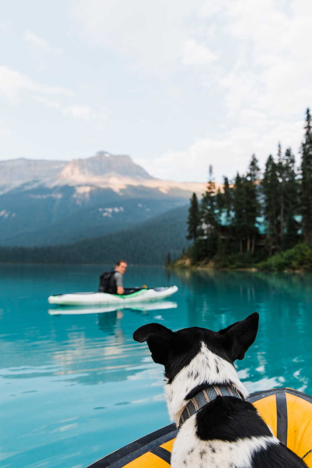 kayaking in canada | utah and california adventure elopement photographers | the hearnes adventure photography | www.thehearnes.com