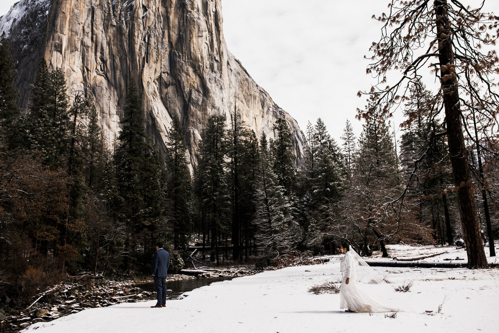 snowy first look in yosemite national park
