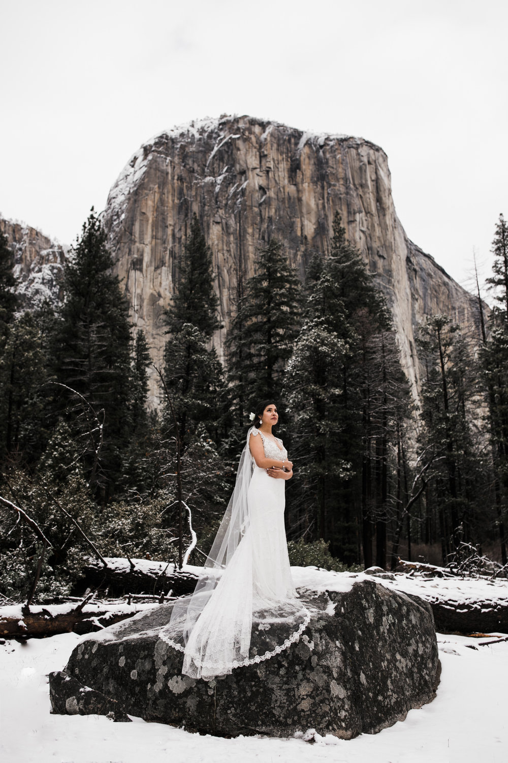 winter elopement locations, yosemite national park