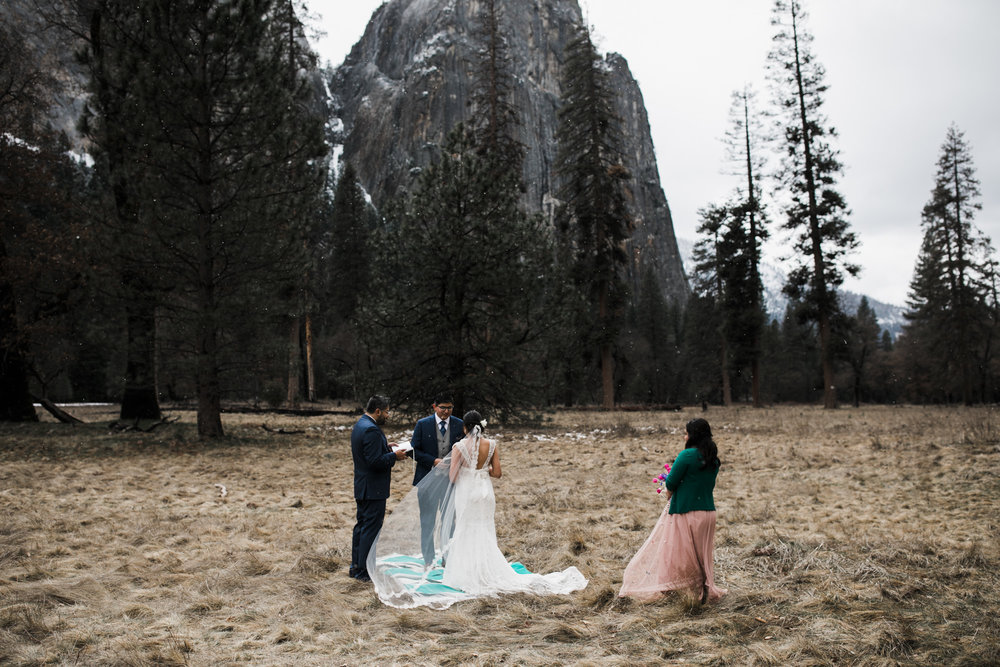 elopement locations in yosemite national park