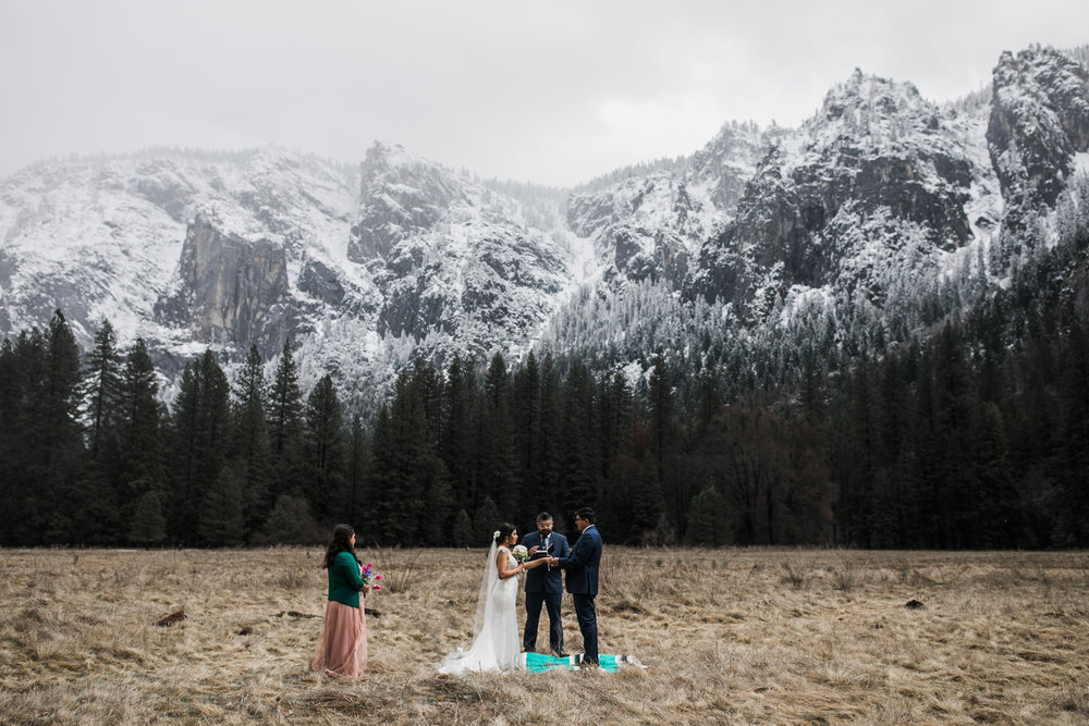 get married in yosemite national park