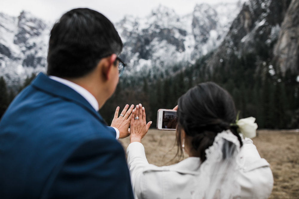 yosemite elopement inspiration
