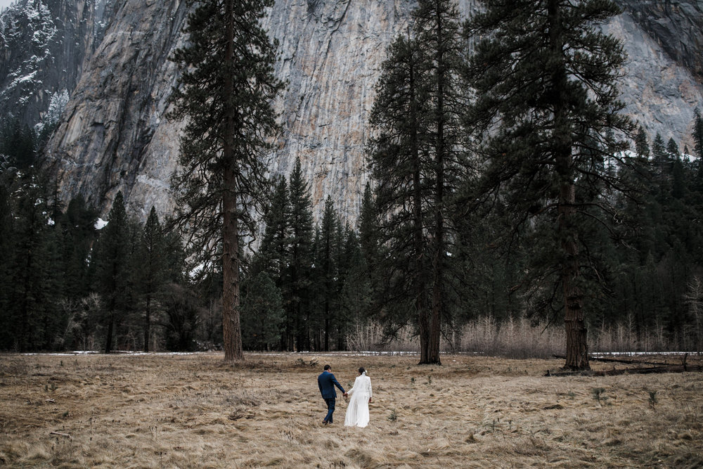 elopement photographer in yosemite national park