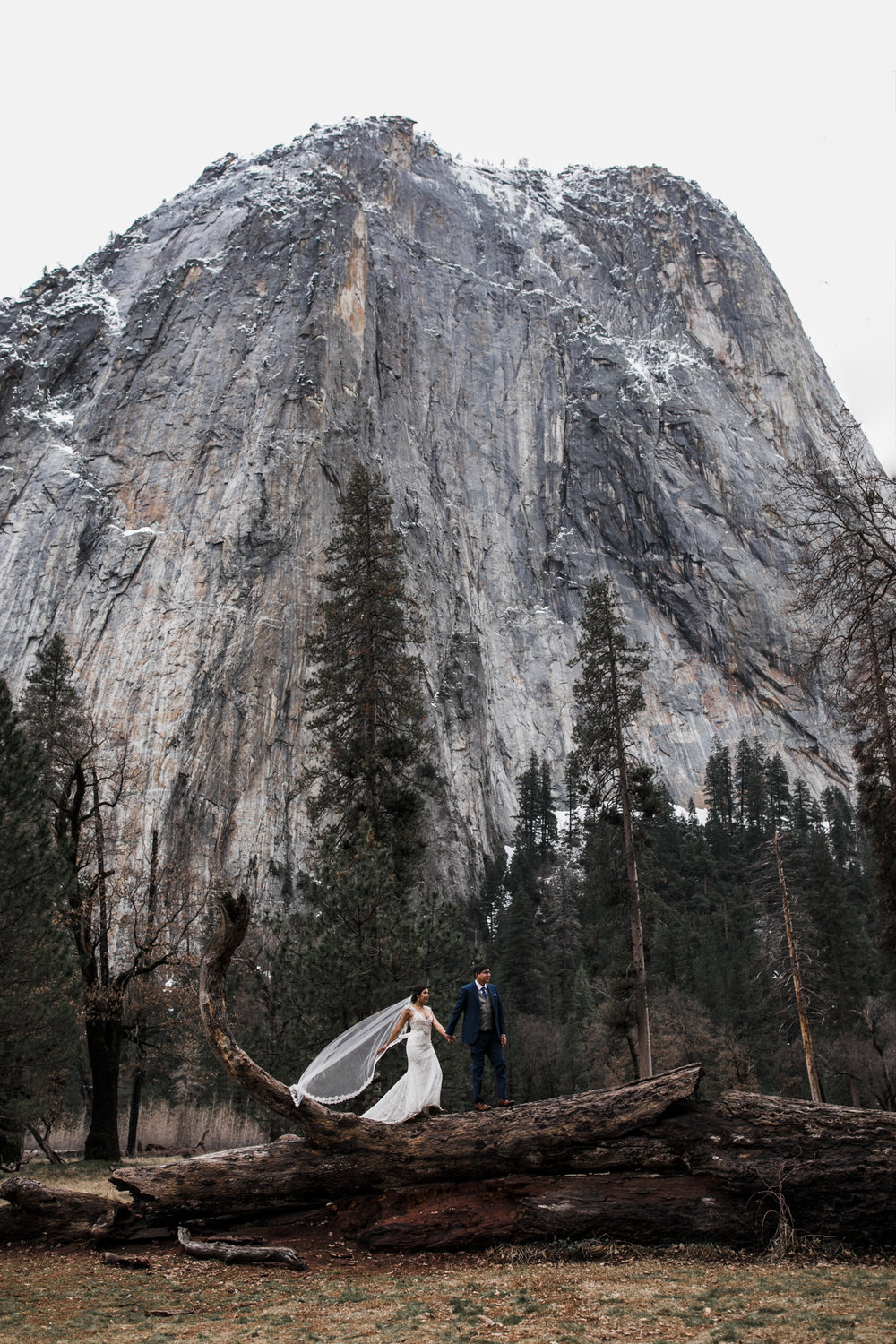 adventure wedding photographer in yosemite national park