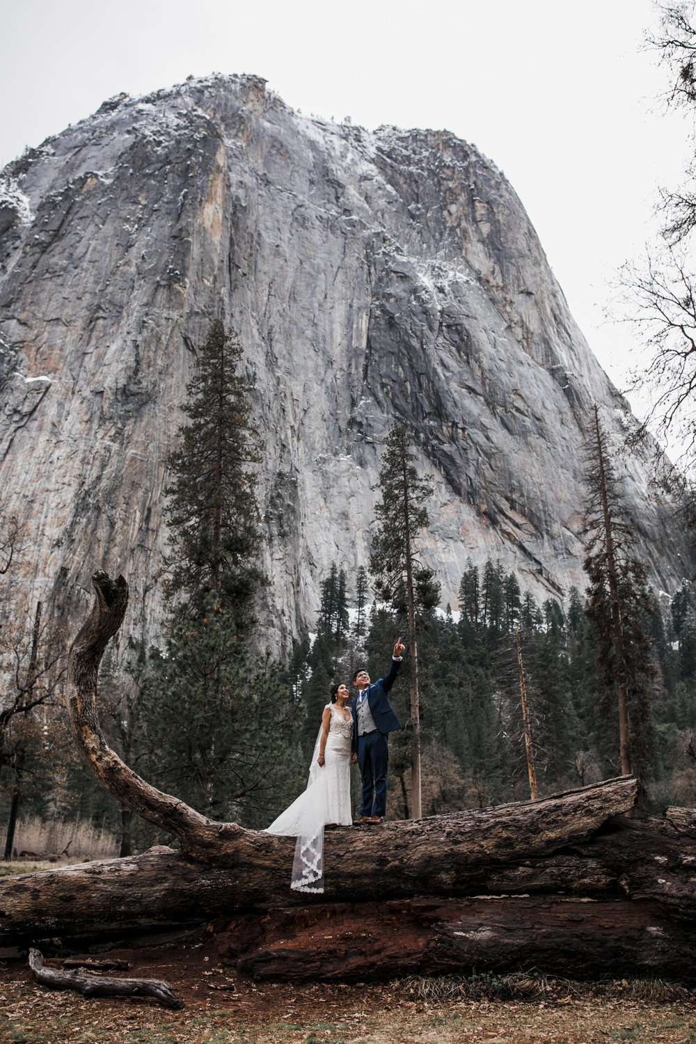 yosemite adventure elopement photographers