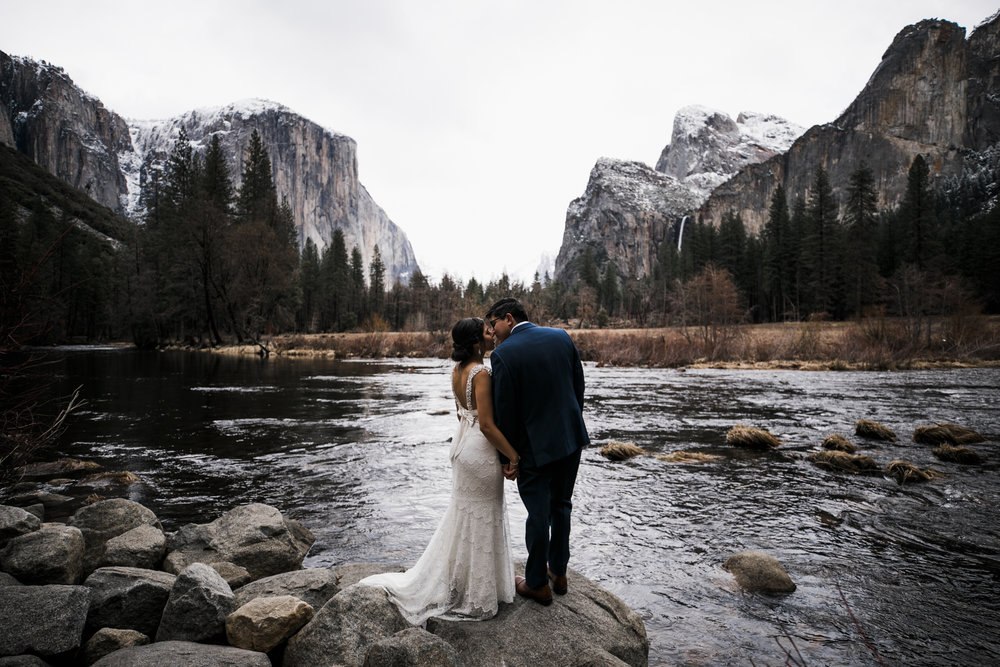 yosemite winter wedding inspiration