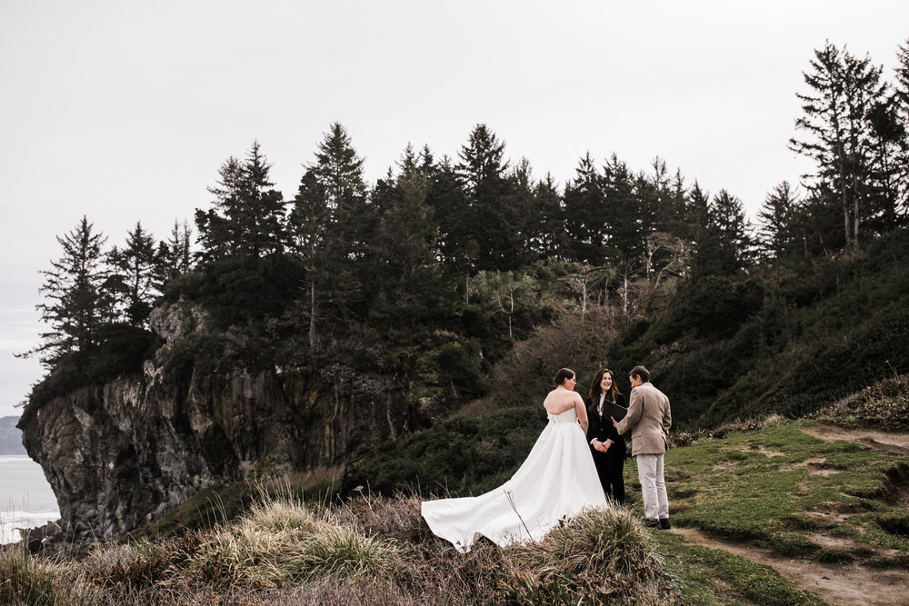 elopement in patrick's point state park california