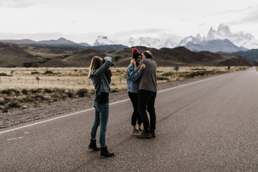 behind the scenes with adventure elopement photographer megan kantor